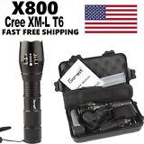 Bright 5000LM X800 shadowhawk CREE T6 LED Flashlight Torch Lamp G700 Light Kit
