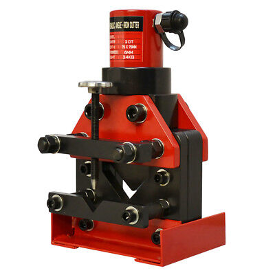 20 Ton Capacity Busbar Hydraulic Angle Cutter Portable 3x3 Angle Cutting