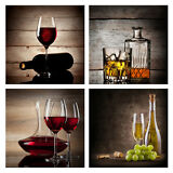 Paintings Canvas Art Print Picture Photo Wall Home Decor Wine Abstract Framed