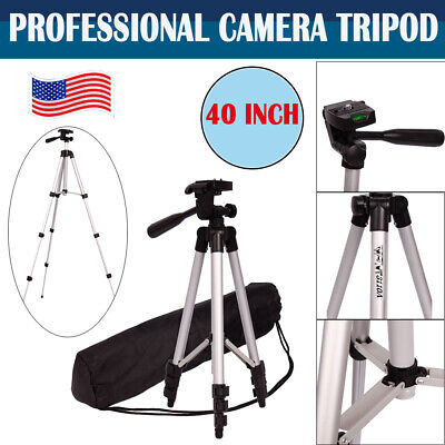 Professional Portable Camera Tripod Stand Mount Holder for Canon Nikon DSLR+Bag