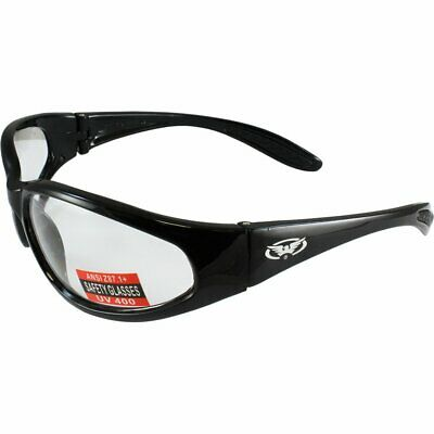 Global Vision Hercules Sunglasses with Clear Lenses