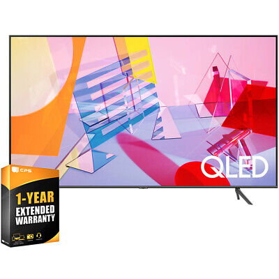 "Samsung 55"" Class Q60T QLED 4K UHD HDR Smart TV 2020 + 1 Year Extended Warranty"