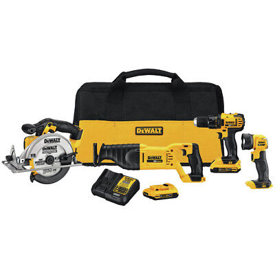Dewalt 4-Tool Combo Kit DCK423D2 New