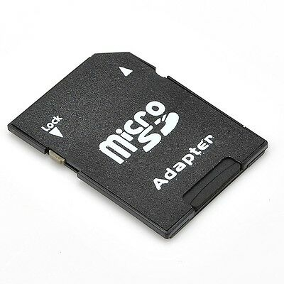 Micro SD to SD HC SDHC Memory Card Adapter Reader - NEW