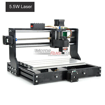 Cnc 2in1 Laser Engraving Router Carving Milling Cutting Machine Wood Plastic Pvc