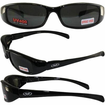 Global Vision New Attitude Super Dark Lenses Sunglasses Spring Assisted (Attitude Sunglasses)
