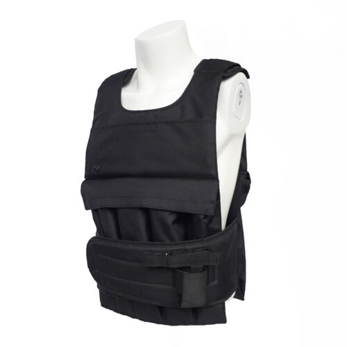 16KG Adjustable Weighted Vest+10 Detachable Weight Pockets A