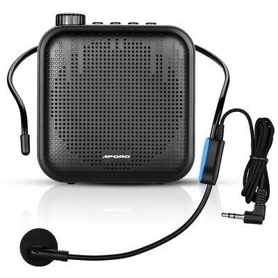 Portable 12W Voice Amplifier Megaphone Waistband Sound Amplifying for Tour Guide