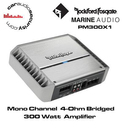 Rockford Fosgate Punch PM300X1 - Full-Range Mono Marine Amplifier 300 Watts