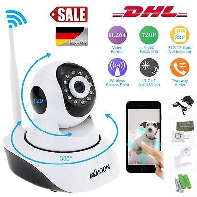 IP Kamera 720P HD Überwachung Wireless WIFI Nachtsicht Webcam Wlan Netzwerk DHL