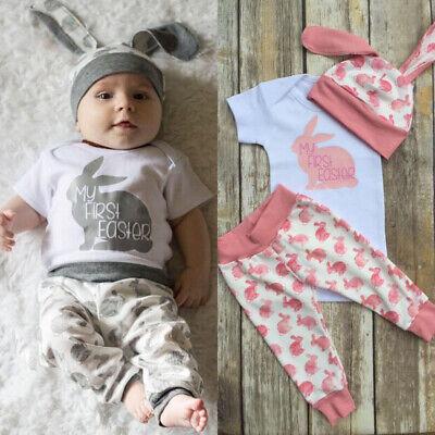 Mein 1. Ostern Baby Boy Girl Strampler Hosen - Baby Ostern Outfits