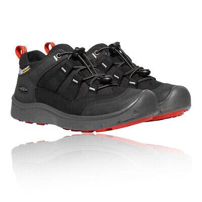 Keen Boys Hikeport Waterproof Walking Shoes - Black Sports Outdoors Breathable
