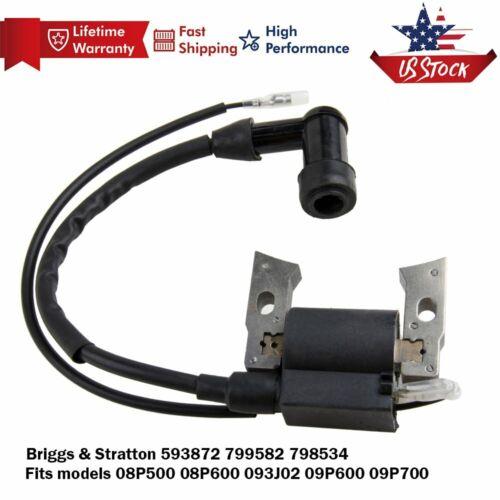 New Ignition coil for Briggs/& Stratton 799582 593872 08P502 09P702 US 09P602