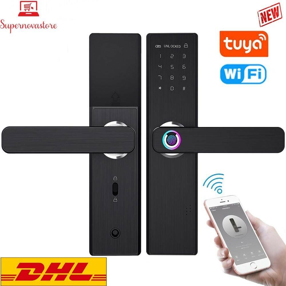 FREE DHL~YOHEEN Wifi Electronic Smart Door Lock With Tuya Ap