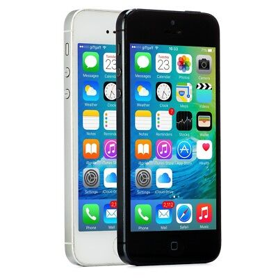Apple iPhone 5 Smartphone AT&T Sprint T-Mobile Verizon or Unlocked 4G LTE iOS