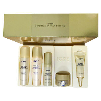 Iope Super Vital Cream Rich VIP SPECIAL GIFT Set