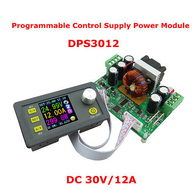 Dp 30v 12a Constant Voltage Current Step-down Programmable Power Supply Module