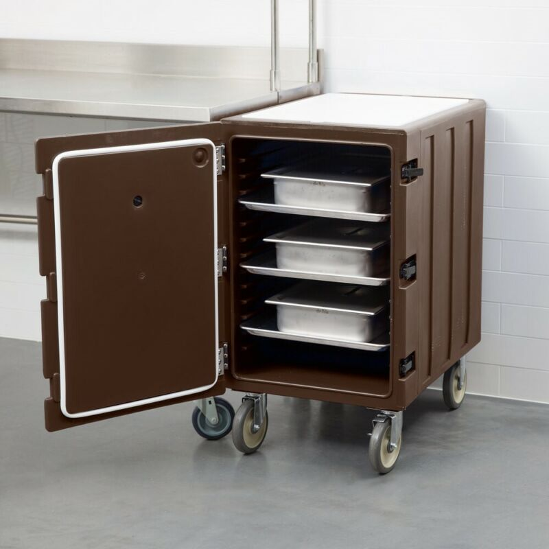 """Cambro 1826LBC131 Camcart® Holds 18"""" x 26"""" Food Storage Boxes - Brown"""