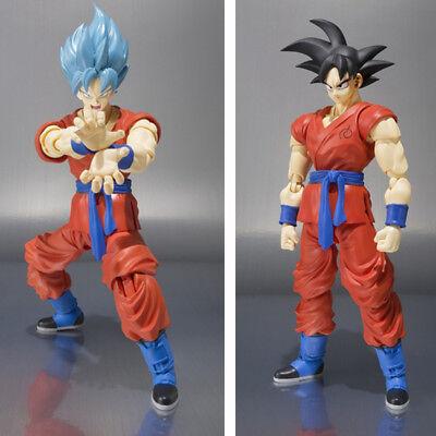 Dragon Ball Z Action Figure Son Goku Super Saiyan S.H.Figuarts Anime DBZ Model