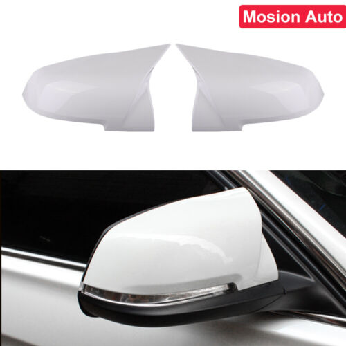 Side Wing Rearview Mirror Cover Mirror Cap Left /& Right for 220i 328i 420i F20 F21 F22 F30 F32 F33 F36 X1 E84 1 Pair Rearview Mirror Cover Cap