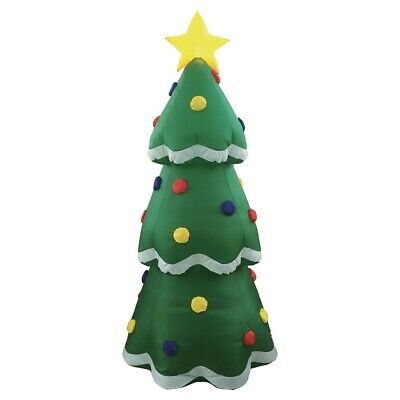 Homegear Christmas 6ft Inflatable Tree For Indoor/Outdoor Use with LED Star