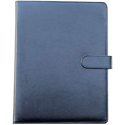 Yansanido Clipboard Folder Portfolioblack Faux Leather Storage A4 Writing Pad