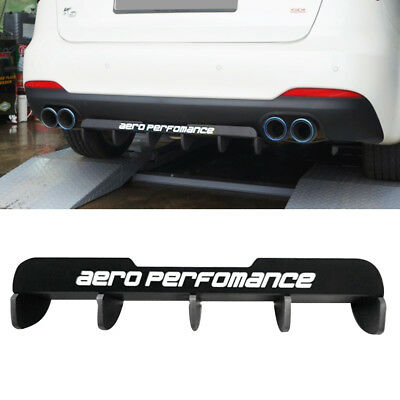 Rear bumper diffuser Unpainted Fits: KIA 11-13 Forte cerato Kspeed