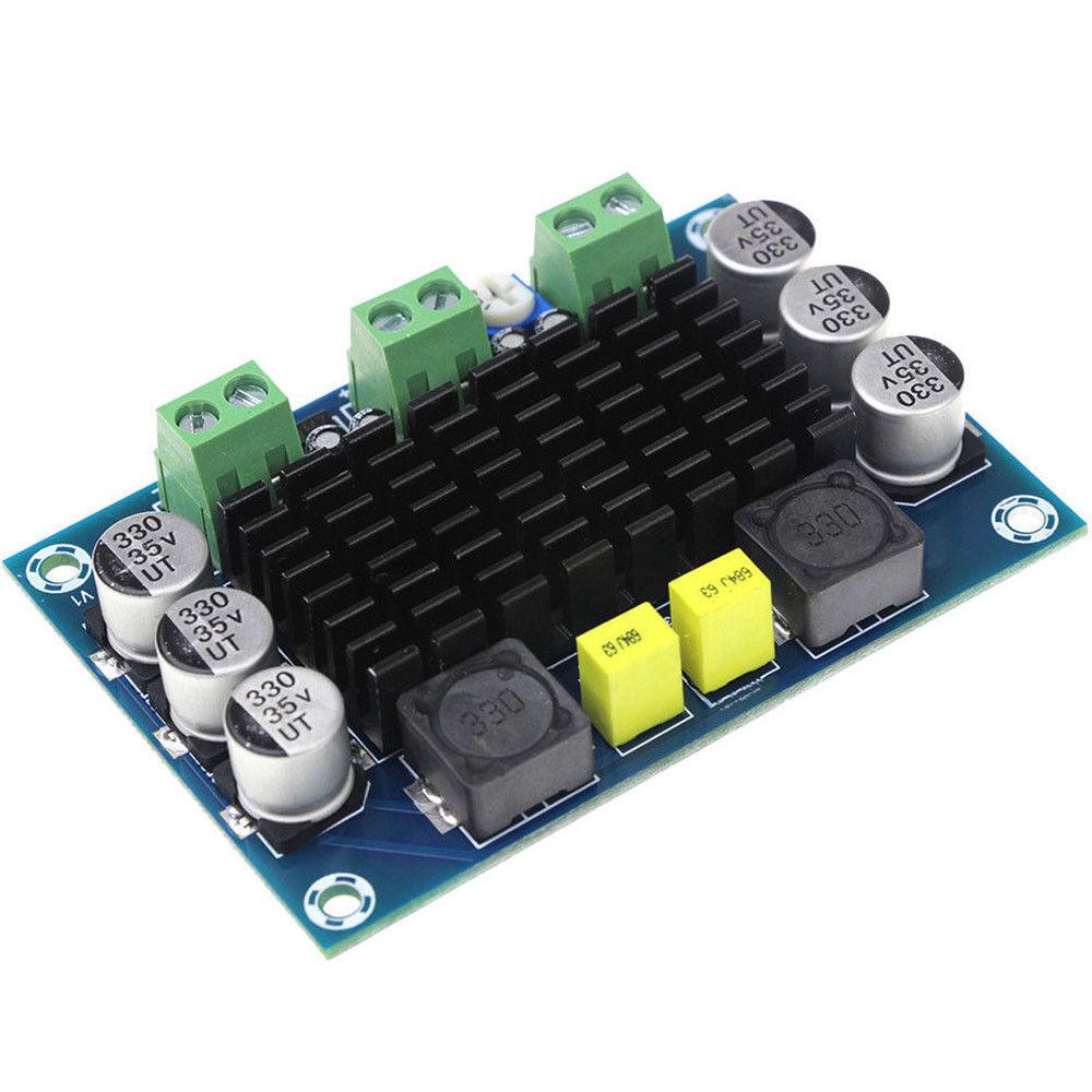 12V 24V 100W TPA3116DA D2 Mono Channel digital Power audio amplifier board DC