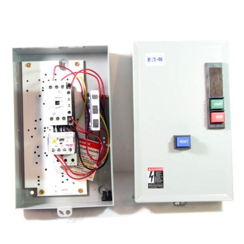 Eaton ECX09G1EBA-F63/DL30 Nonreversing IEC Magnetic Motor Starter, 208VAC