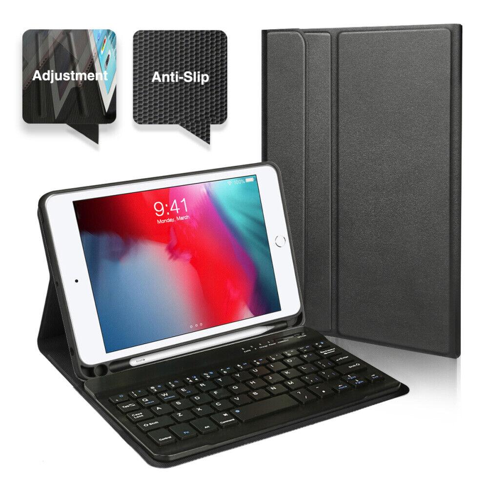 """2019 iPad mini 5 7.9"""" Wireless Bluetooth Keyboard Cover Case"""