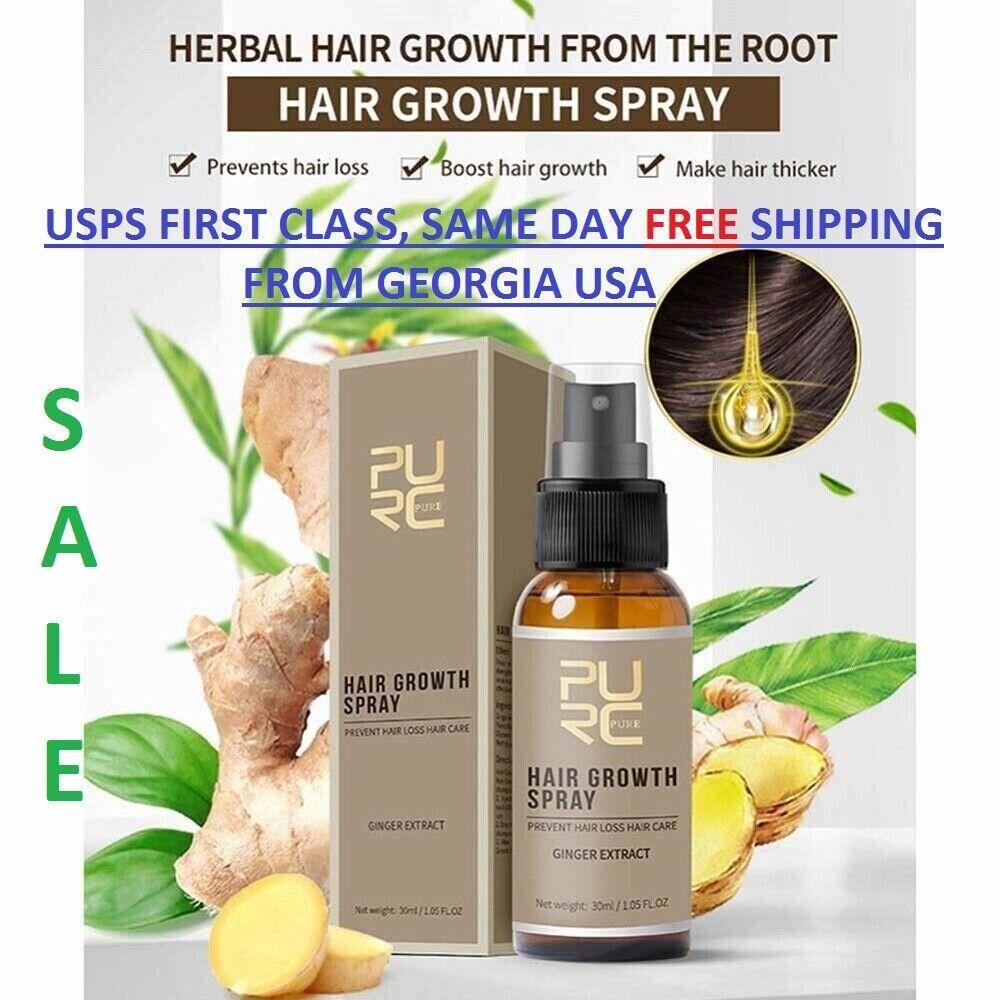 Hair Growth Spray 30 DAYS Grow, hair lossTreatment Preventing 30ml Hair Care & Styling