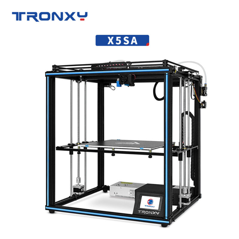 TRONXY Large Pulley 3D Printer X5SA DIY Auto Level Filament 330*330*400mm 24V US