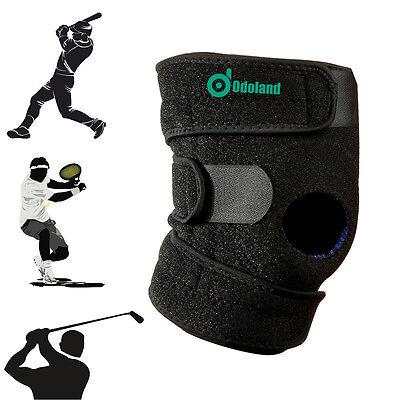 Patella Elastic Knee Brace Fastener Support Guard Gym Sports Kneecap Stabilizer
