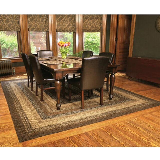 ihf home decor braided rectangle 20 x 30 floor rug jute fabric