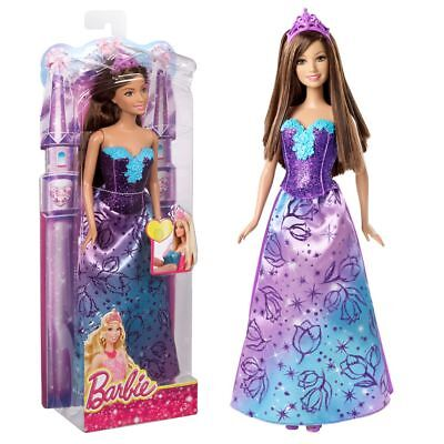 Prinzessin Teresa | Mix and Match Puppe | Barbie | Lila | CFF27
