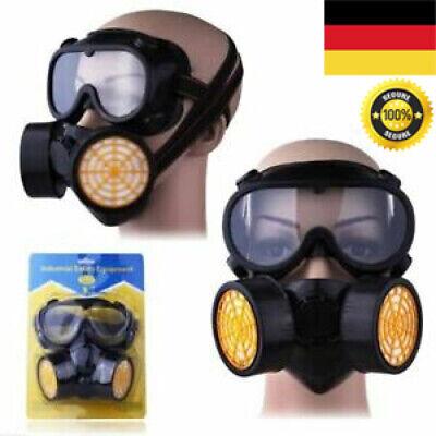 SCHUTZMASKE Gasmaske BW PL Unbenutzt ABC Filter MS-4 Tasche B-Ware DHL