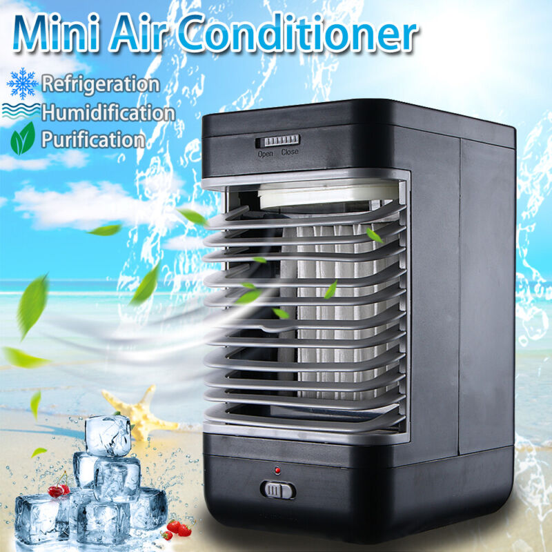 Portable Mini AC Air Conditioner Personal Cooling Fans Bedroom Air Cooler Fan