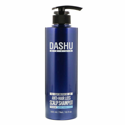 Dashu Anti-Hair Loss Scalp Shampoo 500ml / 16.9oz / K-Beauty