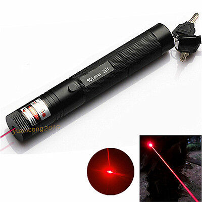 301 Laser Pen 5wm 650nm Military Special 10 Miles Strong Visible Red Light Beam