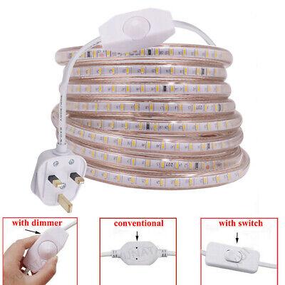 LED Strip 220V Waterproof 120LEDs/M 3014 Flexible Light Outdoor Garden Backlight