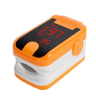 Medical Finger Pulse Oximeter Blood Oxygen Sensor O2 Spo2 Monitor Pluse Rate Fda
