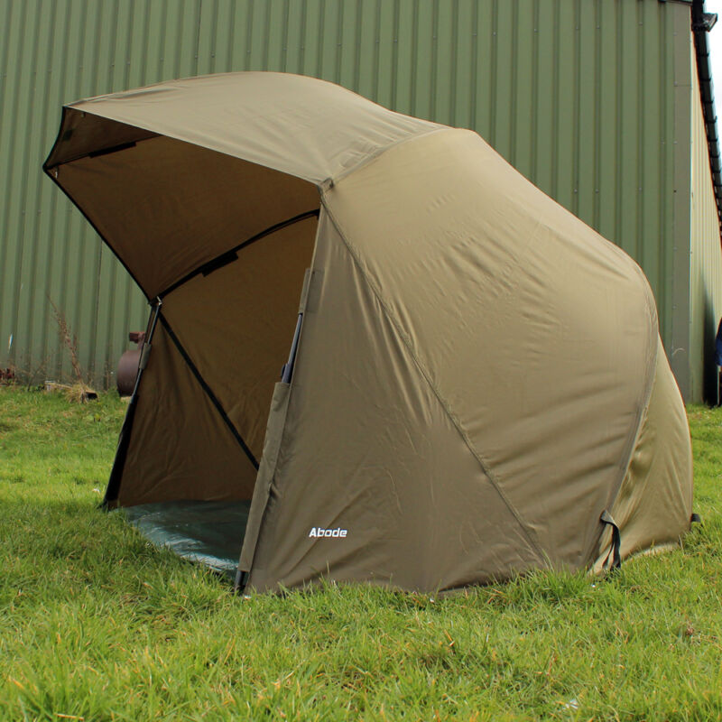 """Abode® Night & Day™ 50"""" Oval Umbrella Carp Fishing Session Brolly"""