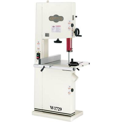 Shop Fox W1729 2 Hp 19 Bandsaw-resaw Awesome Saw