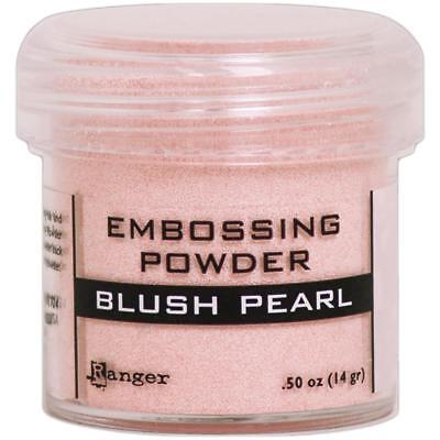(RANGER Embossing Powder BLUSH PEARL Made in USA)