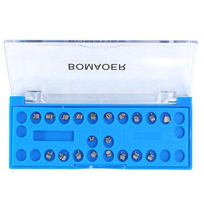 20pack Dental Orthodontic Metal Self-ligating Bracket Roth.022 Hook 345