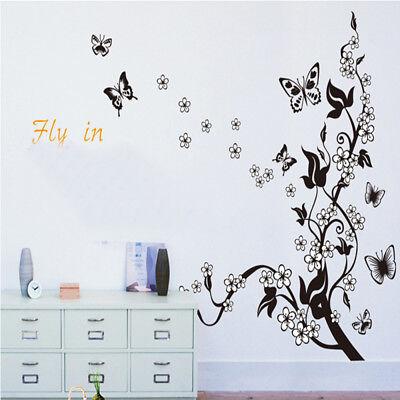 Vinilos decorativos pared ramas de almendro flores blancas DOCLIICK DC-AY7005-18