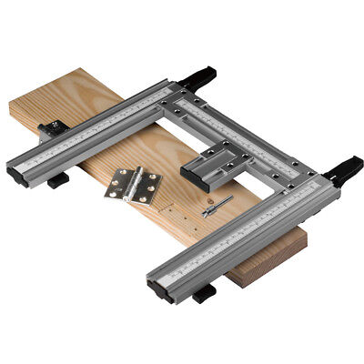 Router Hinge Jig (Hinge Mate Mortising Jig System Door Tool Woodworking Clamp Router Template )