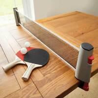 Instant Estensibile Ping Pong Tennis Da Tavolo Gioco Set Con Rete Bats & Palline -  - ebay.it