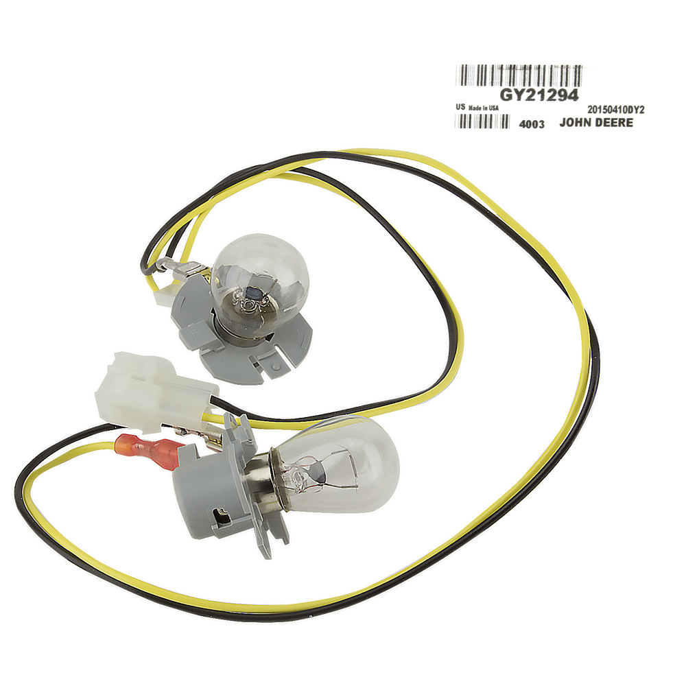 details about john deere original equipment headlight wiring harness  #gy21294