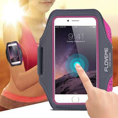 Jogging Gym Armband Sports Running Arm Band Case Cover Bag For iPhone 7 6 Plus